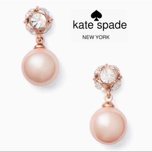 Kate Spade Lady Marmalade Drop Pearl Earrings